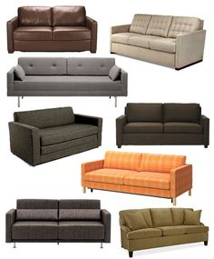 Best Sleeper Sofas & Sofa Beds 2013  Apartment Therapy's Annual Guide
