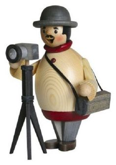Happy Photographer German Christmas Incense Smoker Made in Germany New Burner