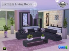 Jom Sims Creations: Lixman livingroom • Sims 4 Downloads