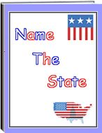 Name the State -   This eWorkbook contains 9 pages including and answer page. Children view an image of a state, then write the name and capital of the state. Children can do this activity more than one time. They may want to see how many they can name without looking at a map. They may want to view a map while doing the activity, and then later try it without a map. The state images are black and white so children can trace the outline of each state and color it.