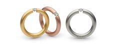 #schmuck #ring #niessing #gold #bronze #silber