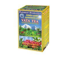 Dosha VATA - Thé de l'Himalaya spécifique pour les constitutions Vata. Soutient l'activité physique et mentale, la circulation sanguine, le système lymphatique et nerveux et les voies respiratoires.