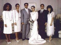 Crown Prince Reza Pahlavi of Iran & Yasmine Etemad-Amini {1986}