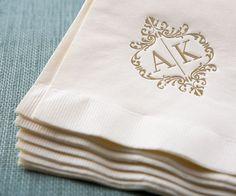 Wedding Logo Cocktail Napkins Wedding Logo Napkin (only in lavender) Wedding Initials, Monogram Wedding, Monogram Logo, Monogram Initials, Wedding Monograms, Floral Wedding, Wedding Logo Design, Wedding Logos, Wedding Stationary