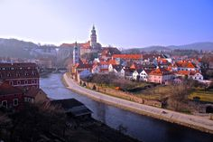 The 12 most romantic small towns in 3. Cesky Krumlov, Czech Republic  Just a couple of hours drive south of Prague one will find the impossibly charming Cesky Krumlov. It's the perfect place to escape reality for a few days and enjoy true Czech hospitality that you just won't find in the busy capital!