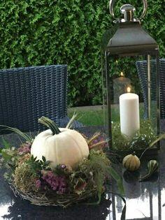 Herbstdeko Herbstdeko - - You can find Herbstdeko and more on our website. Thanksgiving Decorations, Seasonal Decor, Halloween Decorations, Fall Home Decor, Autumn Home, Pinterest Fall Decor, Fall Planters, Fall Table, Fall Diy