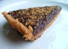 Tarte au pralin & ganache chocolat  ss cuisson