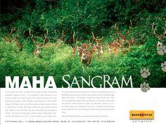 Maharashtra Tourism - MAHA Press Campaign - Ad 01