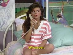 90s kelly kapowski saved by the bell pink stripe tee