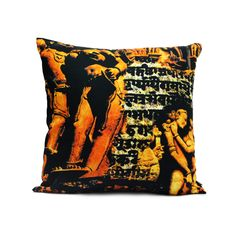 KHAJURAO CUSHION COVER  Buy Here -http://madinindia.in/collections/cushion-covers/products/khajurao-cushion-cover MRP - Rs 800