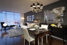 Condo interior design modern is e cin d canbeys home plans. Portland interior designer news finished luxury condo model units inspiration to decorate your bedrooms bedroom decoration ideas best pearl district. Clever design small condo ideas fancy home. Condo Living Room, Apartment Living, Home And Living, Living Room Decor, Modern Living, Apartment Ideas, Small Condo Living, Modern Room, Luxury Living