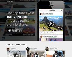 21 Beautiful iPhone App Websites | Inspiration