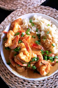 Coconut Curry Shrimp-Creole Contessa