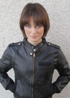 100% Recycled Cafe Racer Vintage Leather Jacket -- www.deadlegendclothing.com