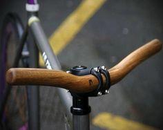 Oak Wood Handlebars By Deep Runner | Some Of The Best Bike Accessories Gadgets