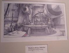 Watto's shop design art