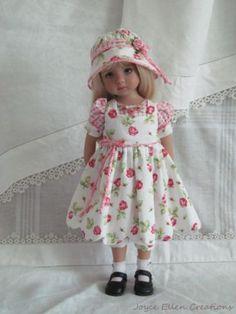 13-Effner-Little-Darling-BJD-fashion-Think-Pink-5pc-OOAK-handmade-set-by-JEC