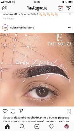 Brow Studio, Eyebrow Design, Henna Brows, Eyebrow Makeup Tips, Brow Artist, Brow Tinting, Microblading Eyebrows, Permanent Makeup, Eye Make Up