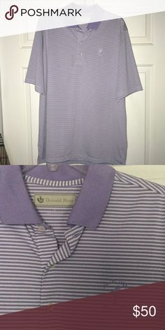 Men's Donald Ross golf polo w/ logo Never worn donald ross Shirts Polos