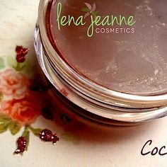 Cocoa Lip Balm – Lena Jeanne Cosmetics  A moment on the lips is NOT a lifetime on the hips with this gorgeous chocolate lip balm.  You will NOT be dissatisfied......so say YES to your cravings and yes to lenajeanne cosmetics cocoa lip balm