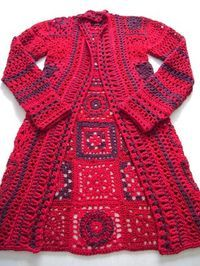 There are unique jacket, yes it's DIY Crochet Granny Square Jacket Cardigan Free Patterns Inspirations that will enhanced you styles. Cardigan Au Crochet, Gilet Crochet, Crochet Coat, Crochet Jacket, Crochet Shawl, Crochet Clothes, Beau Crochet, Crochet Mignon, Pull Crochet