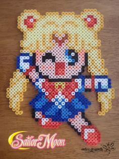 Sailor Moon Perler Bead !!! By: RockerDragonfly