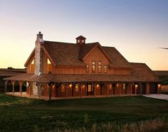 Barn Home Ponderosa Country Barn project by Sand Creek Post & Beam. View this gallery for ideas on your next dream barn. Barn Style House Plans, Barn House Kits, Barn Kits, Pole Barn House Plans, Pole Barn Homes, Barn Houses, Pole Barns, Barn Home Plans, Pole House