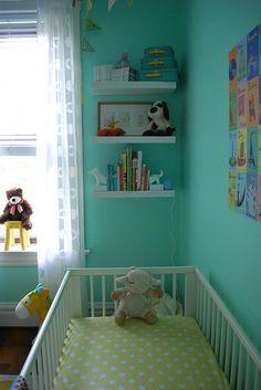 Aqua & Yellow Nursery