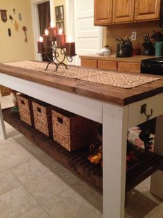 My home made kitchen island