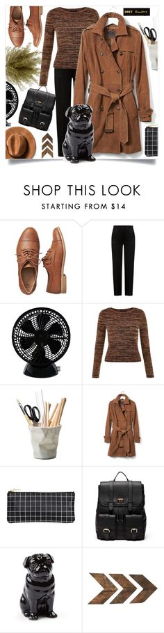 """""""Office"""" by menina-ana ❤ liked on Polyvore featuring Gap, Alberta Ferretti, New Look, ESSEY, Banana Republic, Sole Society, Quail and Kate Spade"""