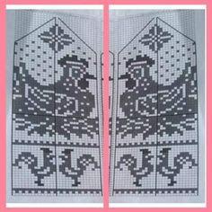 Photo Knitted Mittens Pattern, Knit Mittens, Knitted Gloves, Knitting Socks, Baby Knitting, Knitting Charts, Knitting Stitches, Knitting Designs, Knitting Patterns