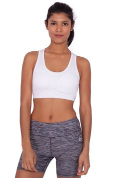 3212b417f180b RBX Active Keyhole Racerback Chafe Resistant Support Band Yoga Sports Bra  -- See this great image   Sports Fitness Clothing