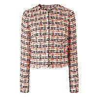 Echo Orange Tweed Jacket
