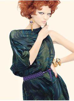 Vogue Italia Apr. 2011 - Personal Best by Steven Meisel Model:Daphne Groeneveld
