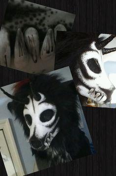 wolf skull mask - Buscar con Google                                                                                                                                                                                 More