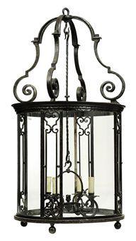 french wrought iron lantern
