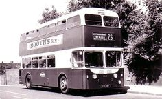 Kent, Sittingbourne Double Decker Bus 1950's