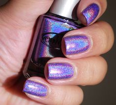 Color Club Halo Hues: ♡: Eternal Beauty ♡ ... a GORGEOUS purple holographic nail polish