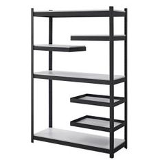 Whalen Storage Cantilever Shelving Unit-WSCSU184872-5BW at The Home Depot
