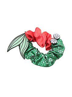 Disney The Little Mermaid Ariel Scrunchie, , hi-res Cute Stitch, Lilo And Stitch, Diy Hair Scrunchies, Cute Disney Outfits, Velvet Scrunchie, Accesorios Casual, Ariel The Little Mermaid, Girls Hair Accessories, Hair Jewelry