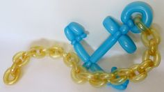 Якорная цепь из шаров / Chain cable for anchor of balloons, twisting Twisting Balloons, Balloon Shapes, Fiesta Decorations, Balloon Decorations, Baloon Art, Shark Balloon, Ballon Animals, How To Make Balloon, Anchor Chain