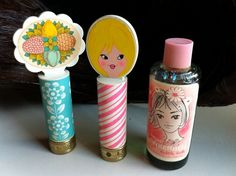Vintage Avon Lip Pop Pomade and Tinkerbell Bubble by Shershells Vintage Avon, Vintage Girls, Vintage Beauty, Vintage Toys, Vintage Stuff, Vintage Makeup, My Childhood Memories, Sweet Memories, Childhood Toys