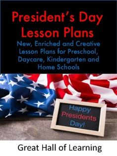 Over 45 pages of new, enriched and creative ideas for preschool, kindergarten, daycares and home schools.Circle time: A history of President's Day Songs and Rhymes: 6 fun songs to singCrafts: 3 crafts for the children to makeMath ideas: Counting, estimating and additionNumber identification and v...