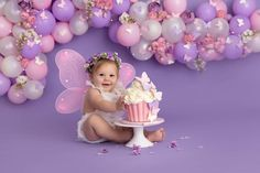 Butterfly 1st Birthday, Butterfly Birthday Party, 1st Birthday Party For Girls, Girl Birthday Decorations, 1st Birthday Cake Smash, Butterfly Baby Shower, Baby Birthday, Birthday Ideas, Shower Baby