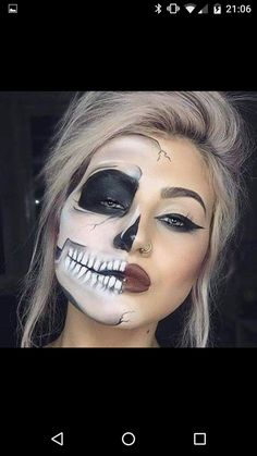 This make-up is amazing...