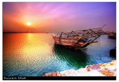 Vivid Sunset [HDR] by Hussain Shah., via Flickr