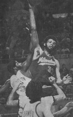 El gran Kareem, en su etapa en los Bucks de Milwaukee