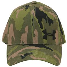 Under Armour Men Airvent Core Hat ($38) ❤ liked on Polyvore featuring men's fashion, men's accessories, men's hats, camouflage, mens hats and mens camo hats