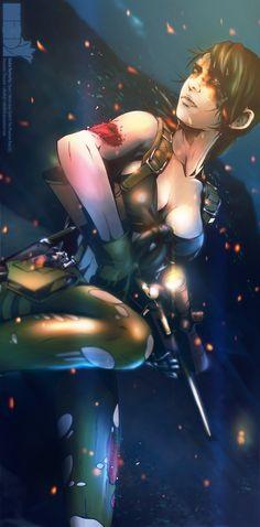 Quiet, Metal Gear Solid V: The Phantom Pain artwork by Alexander Chesno.
