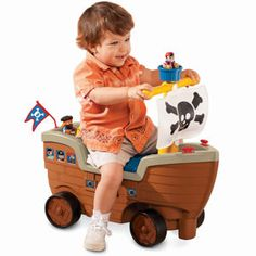 Play n Scoot™ Pirate Ship - I would so use this again at Halloween! lol